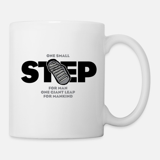 Apollo Mugs & Drinkware - One Small Step - Mug white
