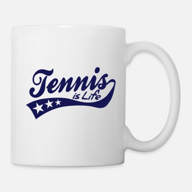 Tennis Is Life tennis is life - retro - Kubek