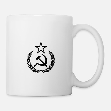 Cccp Seal of the USSR Same Color Star - Tasse