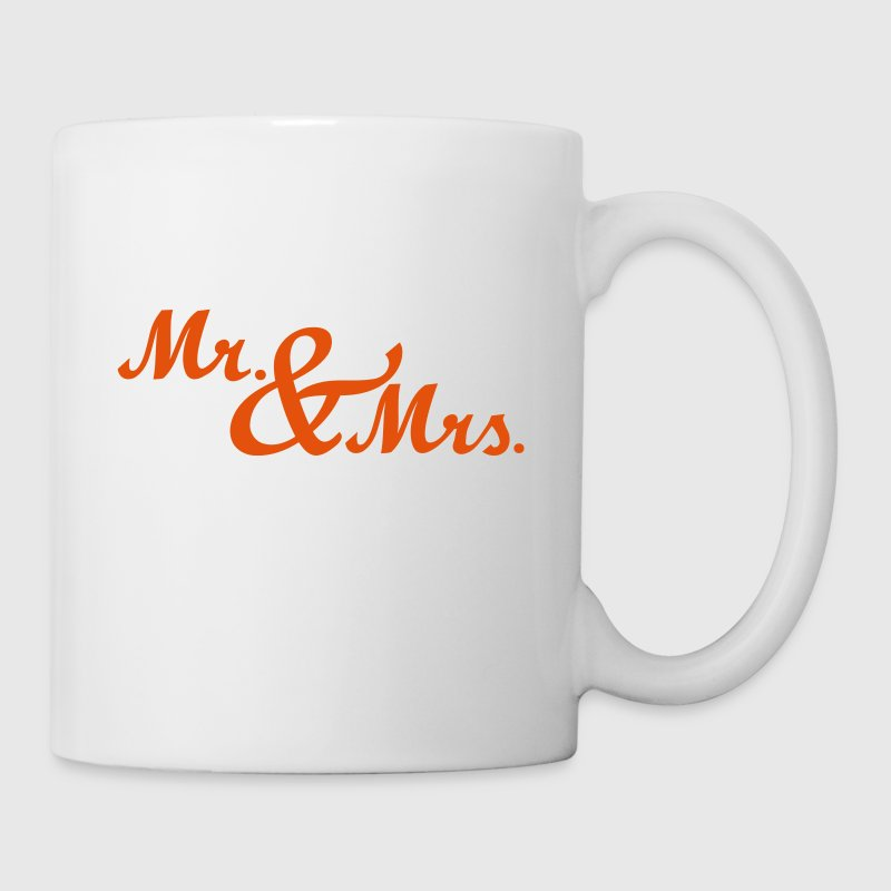 Mr & Mrs - Tasse