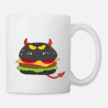 Black Devil Burger - Mug