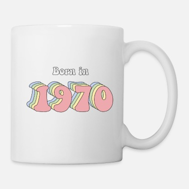Vintage 50 ans born in 1970 - Mug