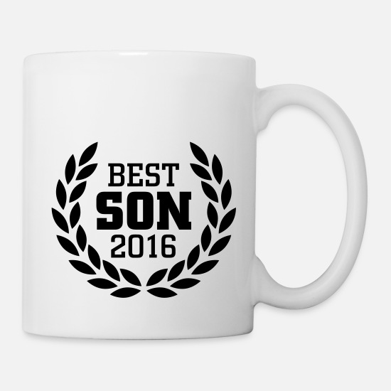 School Mugs & Drinkware - Best Son 2016 - Mug white