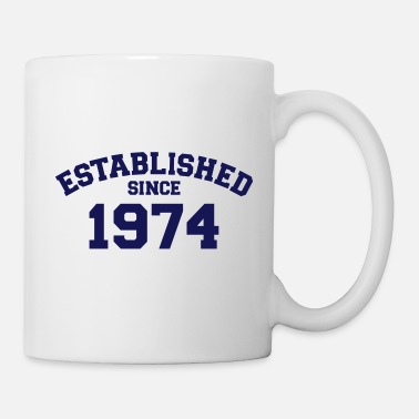 Established Established 1974 - Mug