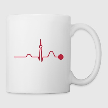 Berlin Heartbeat (Vector) - Tasse