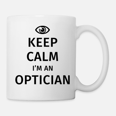 Okulista Keep Calm I'm an Optician - Kubek