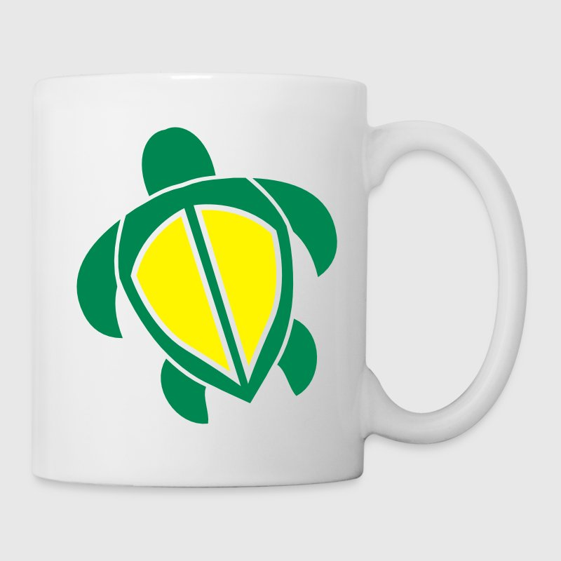 Swimming turtle tortoise shape - Mug