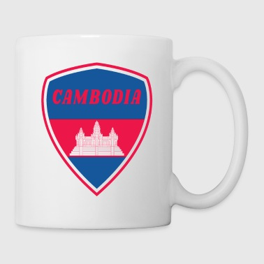 Armoiries du Cambodge - Mug blanc