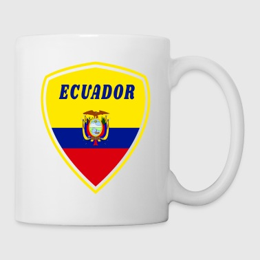 Spanish Ecuador Coat of Arms / Gift South America Flag State - Mug
