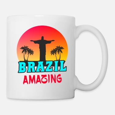 Campeón Récord Brasil Amazing / Gift Jesus South America - Taza