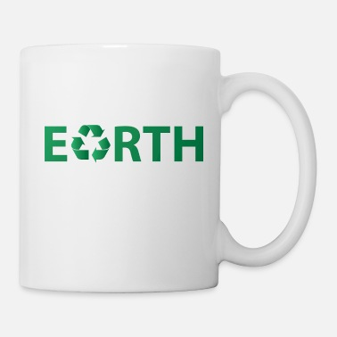 Earth Day Earth Day: Earth - Recycling - Mug