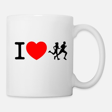 Sprinten I love racing - jogging - Mug