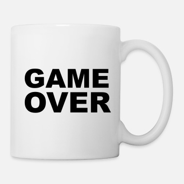 Marry Game Over - Stag Night Slogan - Mug