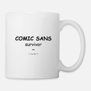 Character comic sans survivor trophy - Mug