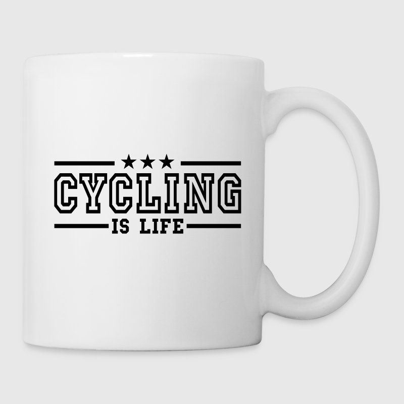 cycling is life deluxe - Mok