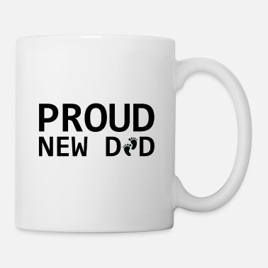 Baby Cool Proud New Dad.Gifts for New Baby father,daddy - Mug