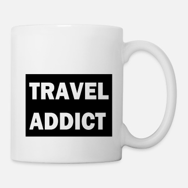 travel Addict - Mug