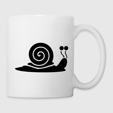 Snail with snail shell - Mug
