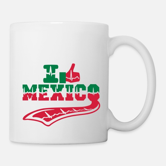 Mexico Mugs & Drinkware - MEXICO - Mug white
