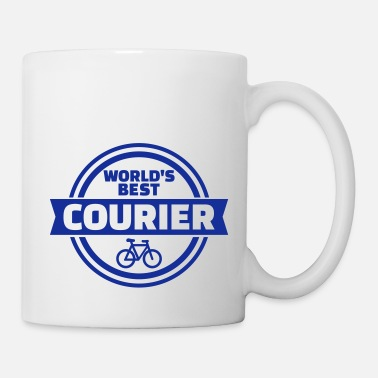 Courier World's best bike courier - Mug