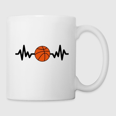 Baloncesto basket basketball is life - Taza