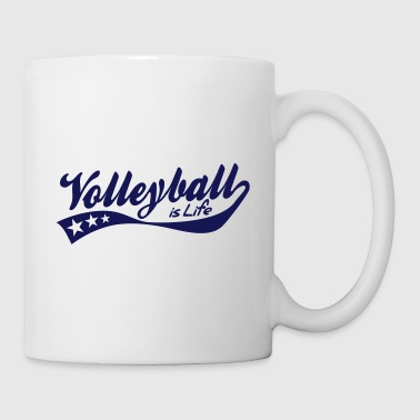 volleyball is life - retro - Tazza
