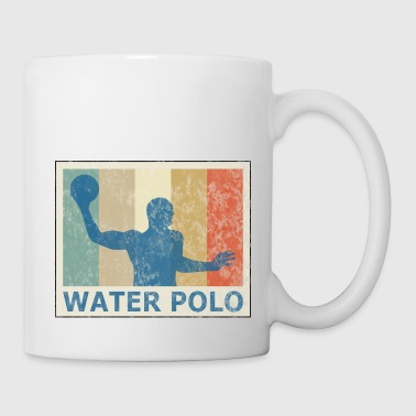 Estilo Retro Vintage Water Ball Water Polo - Taza
