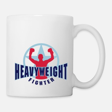 Heavyweight heavyweight fighter - Mug
