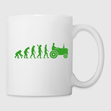 Evolution Tractor - Tasse