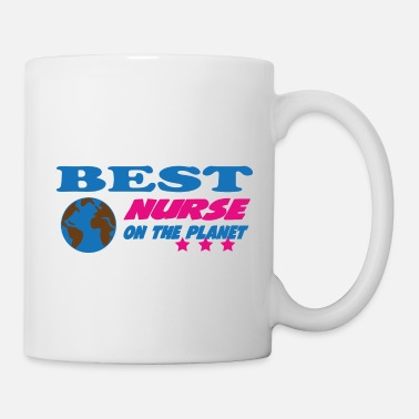Best Friends Best nurse on the planet - Mug