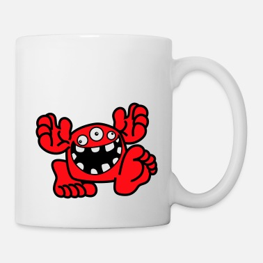 Proud To Be A Monster Cartoon by Cheerful Madness! - Mug