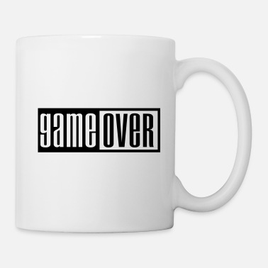 Game Over game over outline - Mug