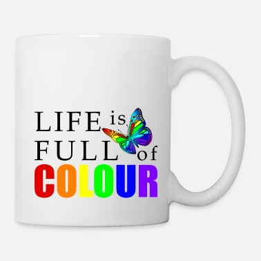Colour Life is full of color - Mug