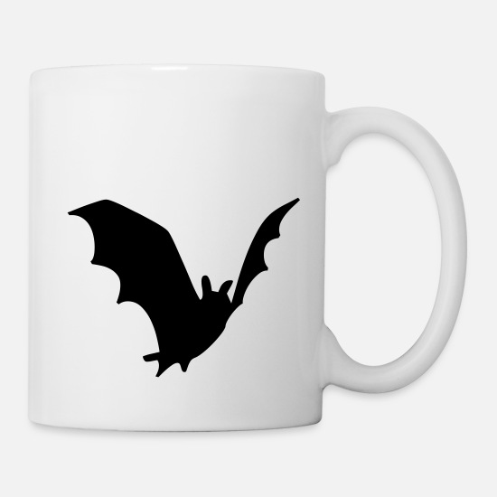 Funny Smiley Baby Batman Kid Poison Scary Mugs & Drinkware - bat blood fledermaus - Mug white