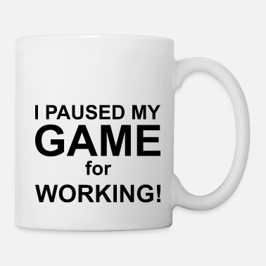 Pause I paused my game to be here Game Wife Idea Top - Mug