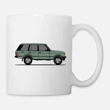 Mud Car Classic Green - Mug