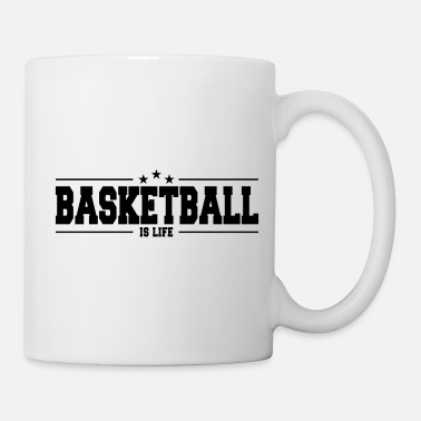 Eintunken basketball is life 1 - Tasse