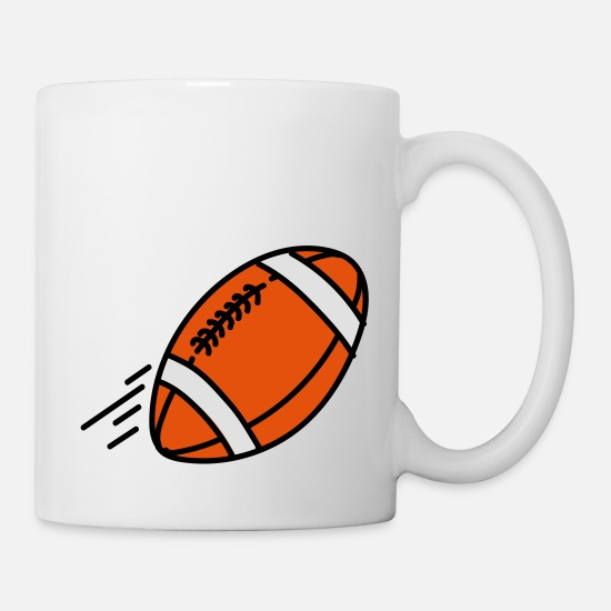Ball Tassen & Becher - Football - Tasse Weiß