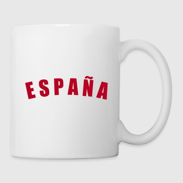 ESPAÑA Spain Spanien fútbol calcio football Fußball Länder countries WM cup sports - eushirt.com - Mug blanc