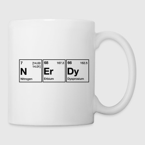 Nerdy periodic table word by chemicalshirts spreadshirt get this design on other amazing products urtaz Choice Image
