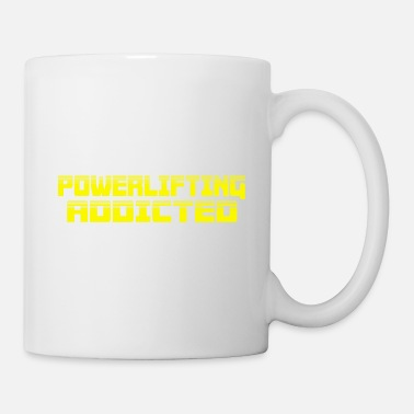 ADDICTED à PL - Mug blanc