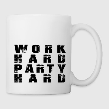 work hard party hard - Design 3 - Mug