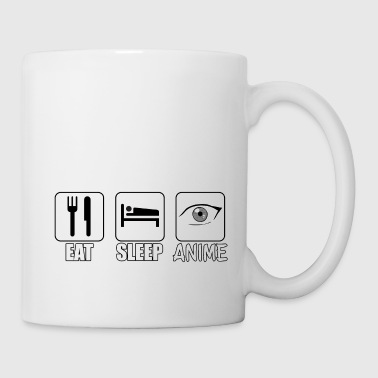EAT SLEEP ANIME - Tasse