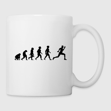 Evolution Sprinter Jogging Running Workout - Mug