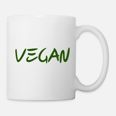 Liberación Animal VEGAN green-animal rights Liberación de los derechos de los animales Bio - Taza