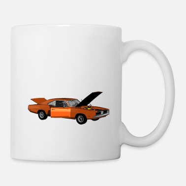 Muscle Muscle Car - V8 US Muscle Classic Cars - Mug