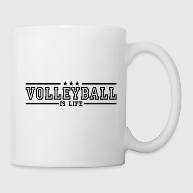volleyball is life deluxe - Tazza