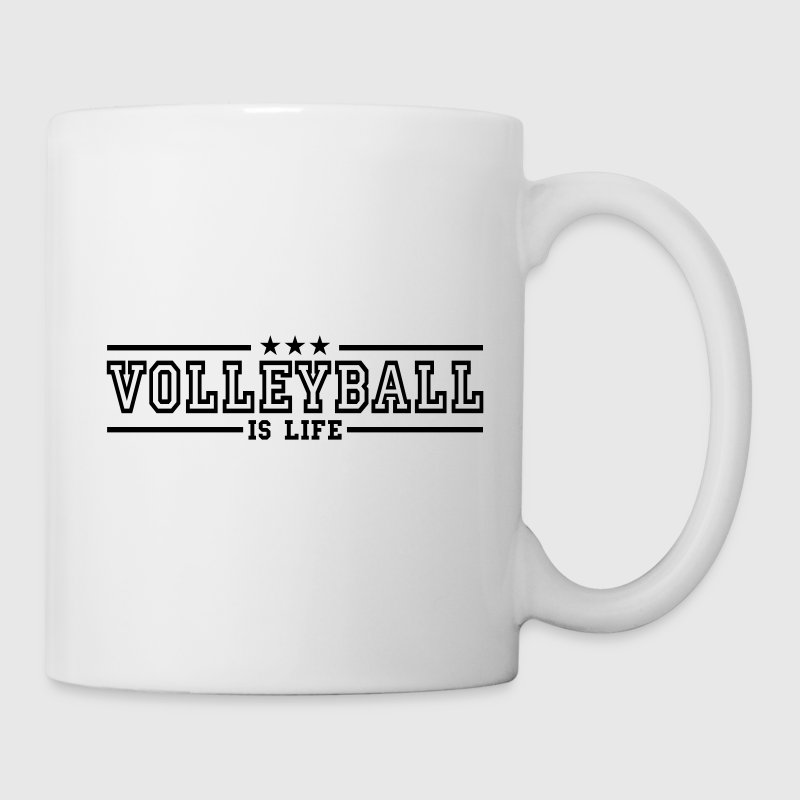 volleyball is life deluxe - Mug