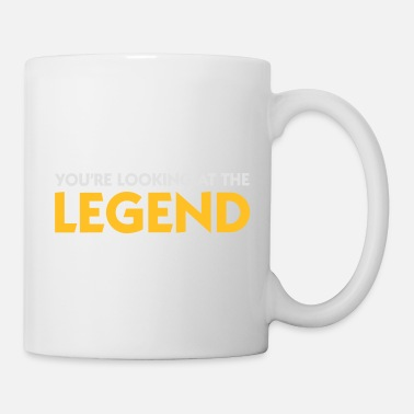 Legende De legende is voor u! - Mok