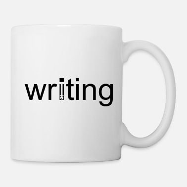 Writing Writing - Tasse